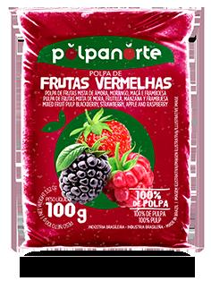 Polpa de Frutas Vermelhas 100G