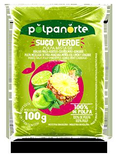Polpa de Suco Verde 100G